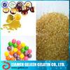 Industrial grade gelatin for paintball