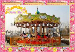 Hot sale 24 seats Amusement Park Kids Carousel Horses Ride