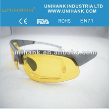 2013 new arrival yellow lens USB flash drive polarized glasses for day , night and dim weather manufacture