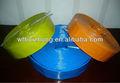 3 polegada cor azul pvc mangueira layflat