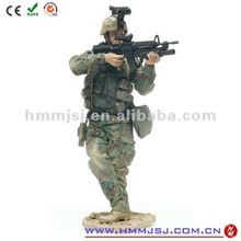 Wholesale plastic toy soldiers with gun OEM