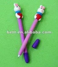 banana shaped polymer clay ballpoint pen