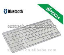 2012 ultra-thin white bluetooth spanish keyboard for ipone 5/ipad 4/galay note 2