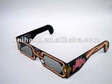 unihank make a57 cheap paper circular polarized 3d glasses