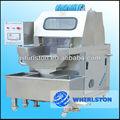 Whirlston 600 - 800 kg / hora de aço inoxidável máquina injetora de carne