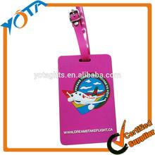Wholesale cool pvc luggage tag