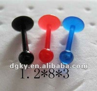wholesale cheap lip piercing rings playboy piercing labret