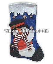 Fashion Christmas Decoration x'mas Stockings Wholesale