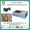 laser máquina de corte de borracha selos