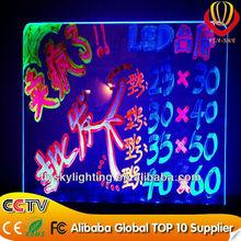 2014 Romatic LED Board Flashing shop supply