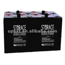Long Life Battery 2v 3000ah for solar energy system