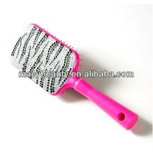 Bling Zebra Paddle Brush