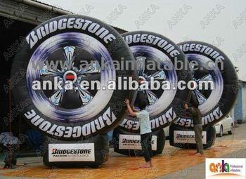 inflatable tire balloon (4m,nylon,advertising,ANKA)