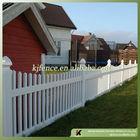 Cheap square picket vinyl fence