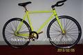 الكربون الصلب ثابتة متشي الدراجة / أو سبائك الصلب والعتاد 2013 المكونات مع حافة ملونة