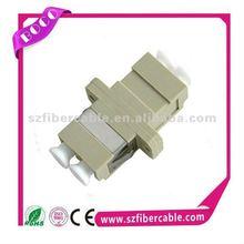 Easy installation mm dx lc fiber optic adapter