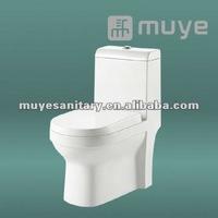 Side Flush valve Siphonic One-Piece Toilet MY-2124