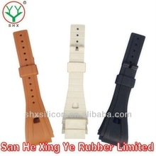 nice silicone/rubber watchband/watch bracelet