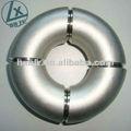 porinmersión en caliente de acero galvanizado accesorios de tubería