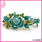 French Luxe Dazzling Crystal Wedding Hair Accessory Floral Hair Clip