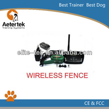AETERTEK wireless dog and cat fence ,outdoor dog fence