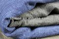 100% hilado de lino teñido chambray tela
