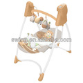 Baby cadeira alta com balancim swing, balanço cadeira de balanço com en71 certificado