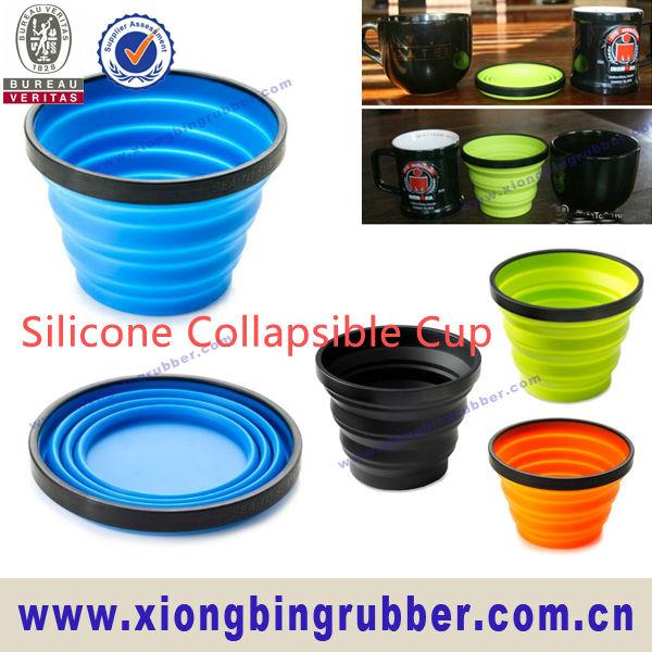 tasse pliable de silicone ext rieur standard de cat gorie. Black Bedroom Furniture Sets. Home Design Ideas