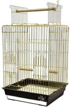 "Top Open Stand Parrot Cage, Bird Cage, Guangzhou Bird Cage by Size 18""x18""x27"""