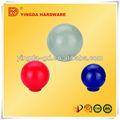 Ronda de diferentes colores de cerámica de plástico perillas de puerta/aparador de madera de perillas
