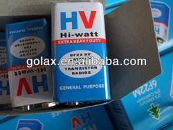 HV 9V dry Battery