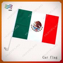Cheap Printed Customize Mexico Election Car Flag
