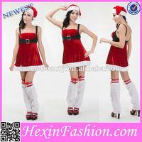 2014 Wholesale Plus Size Sexy Christmas Costume