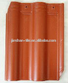 Clay roof tiles hot for sale Aolinbosi interlocking roof tile 300x400mm