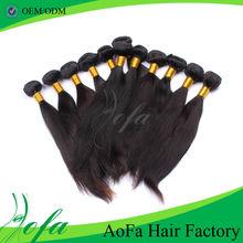 Best quality straight AAAAA grade 2013 hot selling premiun guangzhou 3 bundles hair weaving