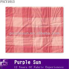 trading bedsheet cotton yarn dye fabric