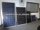 Polycrystalline or monocrystalline solar panel for home use