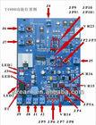 2012 new arrival latest tech DSP board,8.2mhz rf main board, eas main board(E-4900)