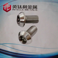 GR5 Titanium stud bolt for motorcycle parts M10 iso7380