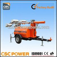 csc power ! diesel mobile light tower