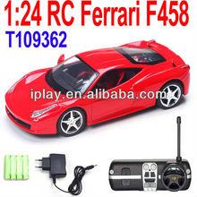 1:24 Scale rc model car, full function RC series, die cast metal body