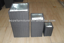 Garden rattan furniture of flower pots/home furniture leisure outdoor