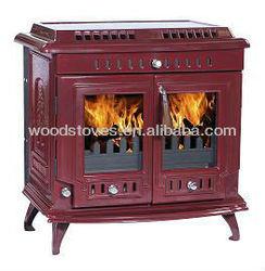 669 cast iron enamel wood heating stoves, water jacket stove