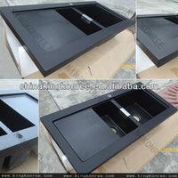 High quality engineered quartz kitchen sink/quartz undermount sinks
