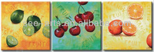kitchen wall decor fruit oil painting
