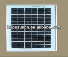 China 5W solar panel cost 4usd
