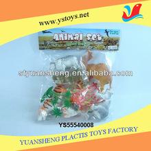 Plastic animal model for school supply