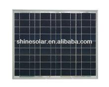 solar panel 25W poly solar panel for street lights