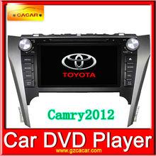 Free special car camera as gift!!!Original Dual Core CPU 8 inch HD digital screen toyota camry dashboard for Toyota Camry 2012