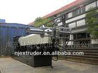 High-efficiency single-screw pp film granulation line/pe plastic recycling granulator extruder
